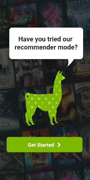 An advertisement for VideoLlama recommender mode